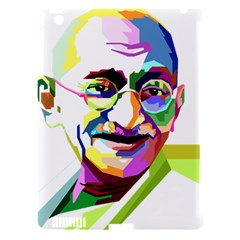 Ghandi Apple Ipad 3/4 Hardshell Case (compatible With Smart Cover)
