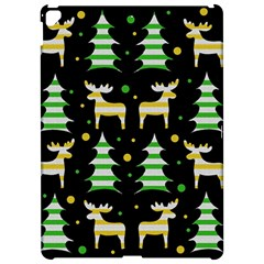 Decorative Xmas reindeer pattern Apple iPad Pro 12.9   Hardshell Case