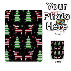 Reindeer Decorative Pattern Multi Purpose Cards (rectangle)