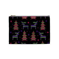 Reindeer magical pattern Cosmetic Bag (Medium)