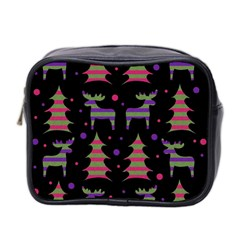 Reindeer magical pattern Mini Toiletries Bag 2-Side