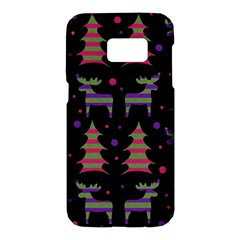 Reindeer magical pattern Samsung Galaxy S7 Hardshell Case