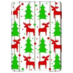 Reindeer Elegant Pattern Apple Ipad Pro 9 7   Hardshell Case