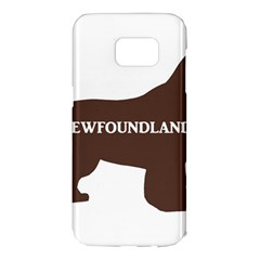 Newfie Name Silo Brown Samsung Galaxy S7 Edge Hardshell Case
