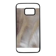 Scottish Deerhound Eyes Samsung Galaxy S7 Black Seamless Case