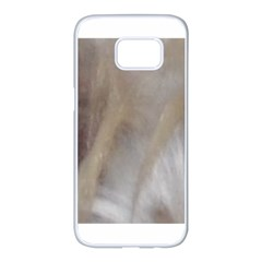 Scottish Deerhound Eyes Samsung Galaxy S7 edge White Seamless Case