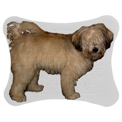 Tibetan Terrier Full Jigsaw Puzzle Photo Stand (bow)