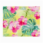 Tropical Dream Hibiscus Pattern Small Glasses Cloth (2-Side) Front