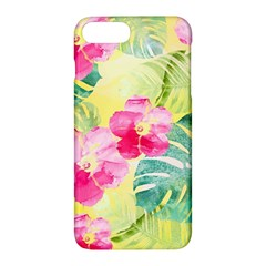 Tropical Dream Hibiscus Pattern Apple Iphone 7 Plus Hardshell Case