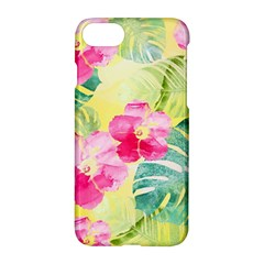 Tropical Dream Hibiscus Pattern Apple Iphone 7 Hardshell Case