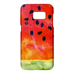 Abstract Watermelon Samsung Galaxy S7 Hardshell Case