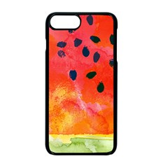 Abstract Watermelon Apple Iphone 7 Plus Seamless Case (black)