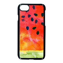 Abstract Watermelon Apple Iphone 7 Seamless Case (black)