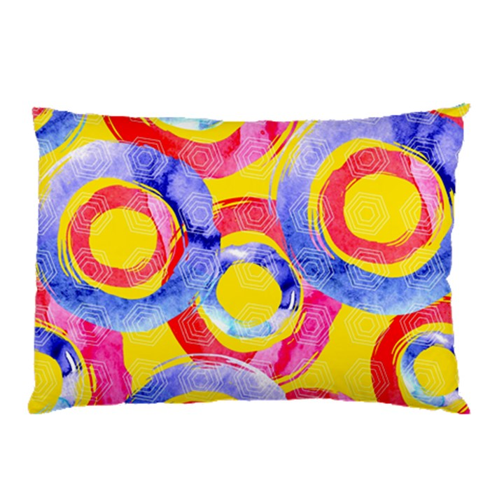 Blue And Pink Dream Pillow Case