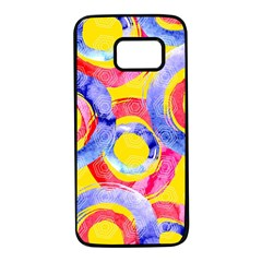 Blue And Pink Dream Samsung Galaxy S7 Black Seamless Case