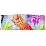Colorful Pineapples Over A Blue Background Body Pillow Case (Dakimakura) Body Pillow Case