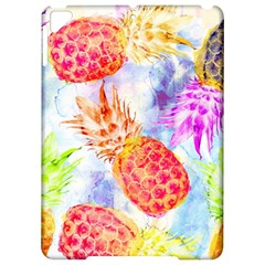Colorful Pineapples Over A Blue Background Apple Ipad Pro 9 7   Hardshell Case