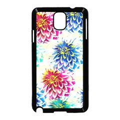 Colorful Dahlias Samsung Galaxy Note 3 Neo Hardshell Case (black)
