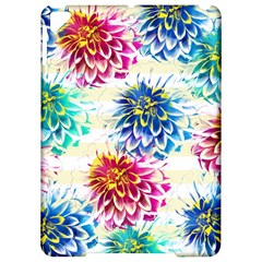 Colorful Dahlias Apple Ipad Pro 9 7   Hardshell Case