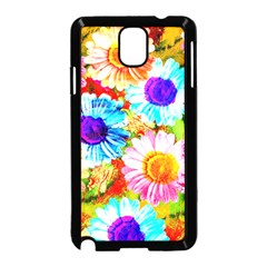 Colorful Daisy Garden Samsung Galaxy Note 3 Neo Hardshell Case (black)