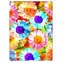 Colorful Daisy Garden Apple Ipad Pro 12 9   Hardshell Case