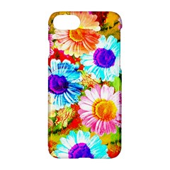 Colorful Daisy Garden Apple Iphone 7 Hardshell Case