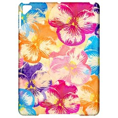 Colorful Pansies Field Apple Ipad Pro 9 7   Hardshell Case