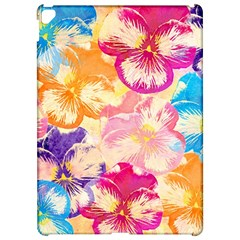 Colorful Pansies Field Apple Ipad Pro 12 9   Hardshell Case