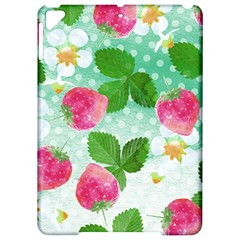 Cute Strawberries Pattern Apple Ipad Pro 9 7   Hardshell Case