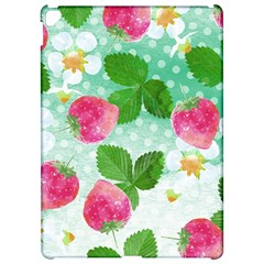 Cute Strawberries Pattern Apple Ipad Pro 12 9   Hardshell Case