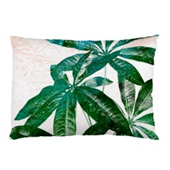 Pachira Leaves  Pillow Case