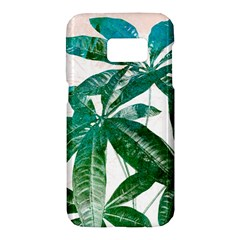 Pachira Leaves  Samsung Galaxy S7 Hardshell Case