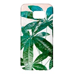 Pachira Leaves  Samsung Galaxy S7 Edge Hardshell Case