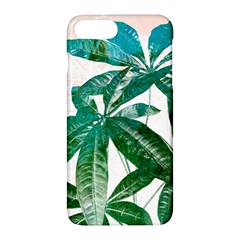Pachira Leaves  Apple Iphone 7 Plus Hardshell Case