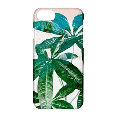 Pachira Leaves  Apple Iphone 7 Hardshell Case