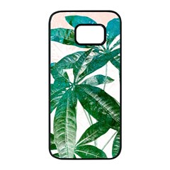 Pachira Leaves  Samsung Galaxy S7 edge Black Seamless Case