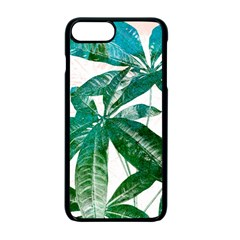 Pachira Leaves  Apple Iphone 7 Plus Seamless Case (black)
