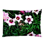Pink Flowers Over A Green Grass Pillow Case 26.62 x18.9 Pillow Case