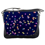 Playful Confetti Messenger Bags Front