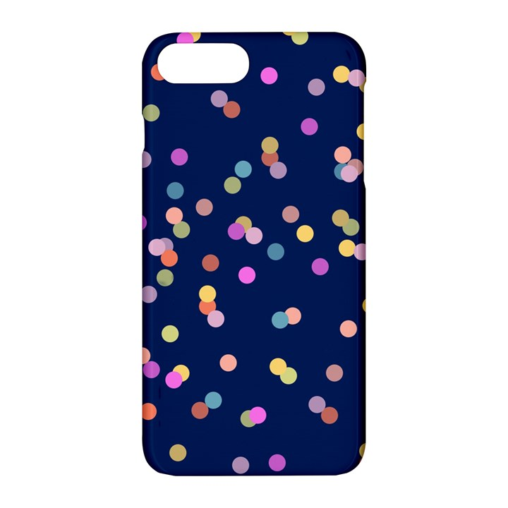 Playful Confetti Apple iPhone 7 Plus Hardshell Case