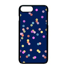 Playful Confetti Apple Iphone 7 Plus Seamless Case (black)