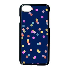 Playful Confetti Apple Iphone 7 Seamless Case (black)