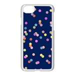 Playful Confetti Apple iPhone 7 Seamless Case (White) Front