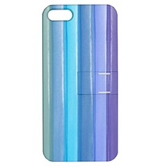 Provence Fields Lavender Pattern Apple Iphone 5 Hardshell Case With Stand