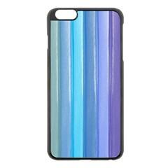 Provence Fields Lavender Pattern Apple Iphone 6 Plus/6s Plus Black Enamel Case