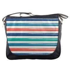 Summer Mood Striped Pattern Messenger Bags
