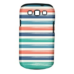Summer Mood Striped Pattern Samsung Galaxy S Iii Classic Hardshell Case (pc+silicone)