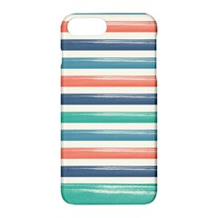 Summer Mood Striped Pattern Apple Iphone 7 Plus Hardshell Case