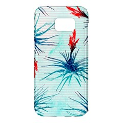 Tillansia Flowers Pattern Samsung Galaxy S7 Edge Hardshell Case