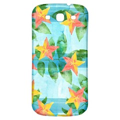 Tropical Starfruit Pattern Samsung Galaxy S3 S Iii Classic Hardshell Back Case